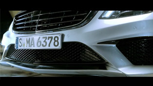 2014 Mercedes-Benz S63 AMG [teaser video]