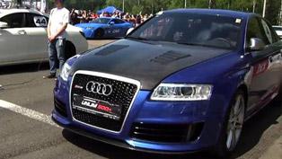 Audi RS6 Gorilla Racing vs CLS 63 AMG, Gallardo TT and 911 Turbo