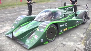 World Land Speed Record with Electric Car - 328.5 km/h