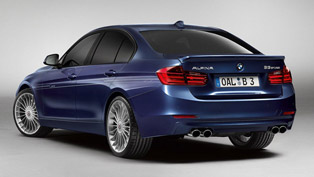 2013 alpina b3 f30 - test [video]