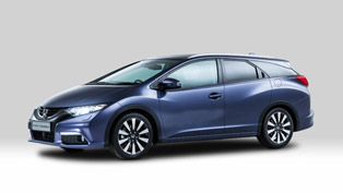 First Glimpse Of 2014 Honda Civic Tourer