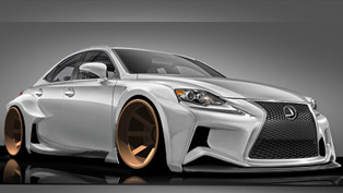 2014 lexus is sport deviantart to be displayed at sema