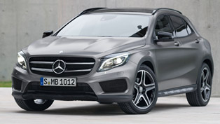 2014 Mercedes-Benz GLA - Efficiency and Practicality