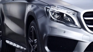 2014 Mercedes-Benz GLA [teaser video]