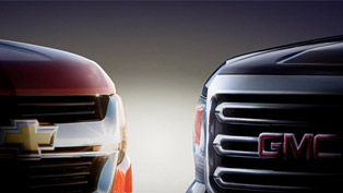 TEASER: Chevrolet Colorado And GMC Canyon Pickups