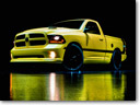 Dodge Unveils Ram 1500 Rumble Bee Concept