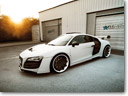 The White Phoenix: Famous Parts Audi R8 Wide Body PD GT-850