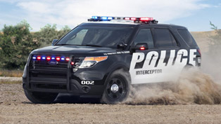 Ford Police Interceptor Utility Vehicle Now With More Horsepower