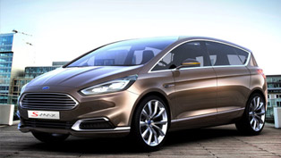 Ford S-MAX Concept Offers Sharp Design And Advanced Technologies