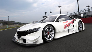 honda nsx concept-gt to enter the 2014 super gt series
