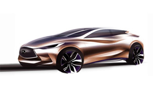 Infiniti Q30 Concept To Be Revealed In Frankfurt