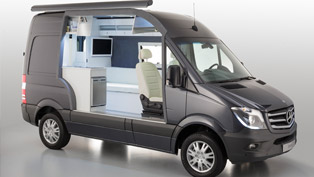 Mercedes-Benz Sprinter Caravan Concept - Safer, Cleaner, More Comfortable and Striking