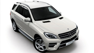 Mercedes-Benz ML350 BlueTEC 4MATIC 1st Anniversary Edition
