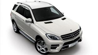 Mercedes-Benz ML350 BlueTEC 4MATIC 1st Anniversary Edition