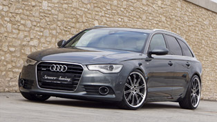 senner tuning reveals upgraded audi a6 4g