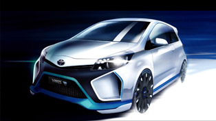 Toyota Yaris Hybrid-R Concept Finally Revealed