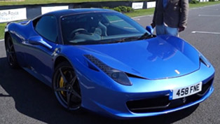Ferrari 458 Italia - Price with Extras £271,125