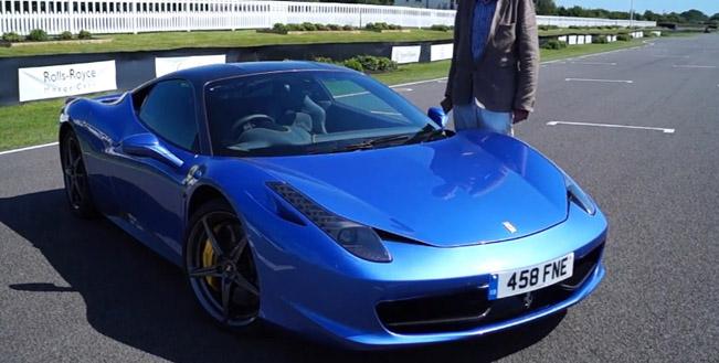 ferrari 458 italia - price with extras £271,125