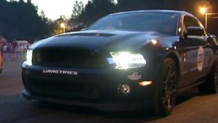 Ford Mustang Shelby GT500 vs Corvette Z06, Panamera, GT-R and Gallardo