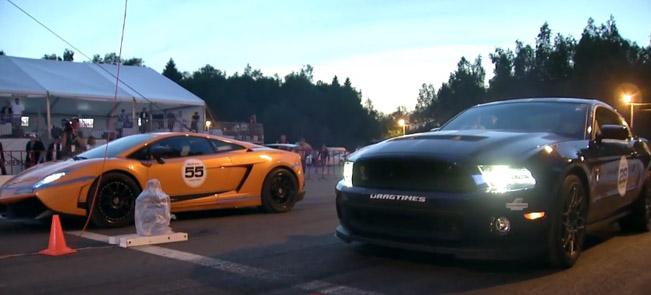 Ford Mustang Shelby Gt500 Vs Corvette Z06 Panamera Gt R And Gallardo