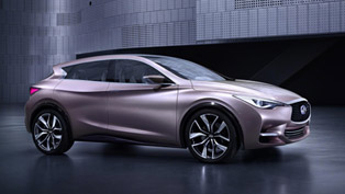 First Image Of Infiniti Q30 Concept Revealed