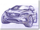 Mercedes-Benz GLA Teased Ahead Of Official Reveal
