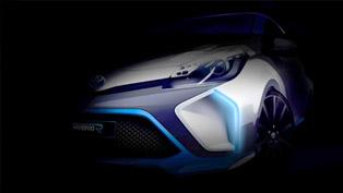First Teaser Image Of Toyota Hybrid-R Concept Revelaed