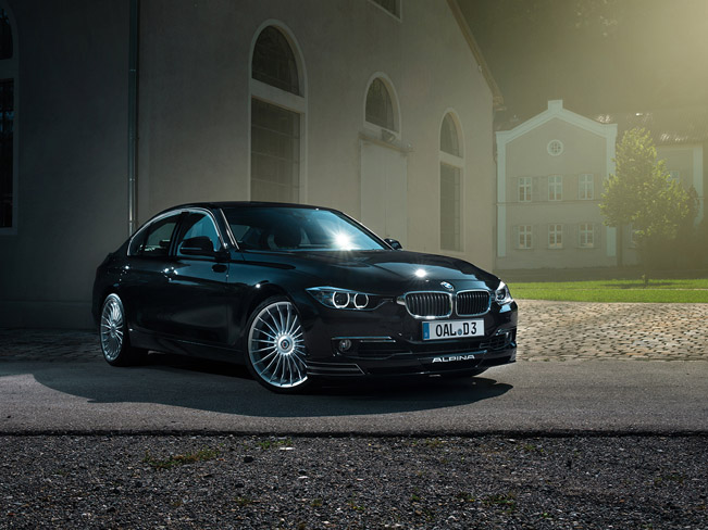 2013 Alpina D3 Bi Turbo Based On Bmw F30 And F31