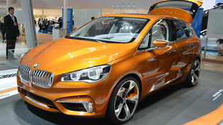 2013 BMW Concept Active Tourer Outdoor