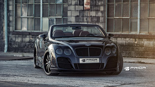 Prior Design Bentley Continental GTC With New Photoshoot