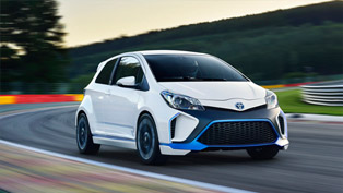 2013 Toyota Yaris Hybrid-R Concept Gets Fully Unveiled