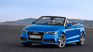 Frankfurt Motor Show: 2014 Audi A3 Cabriolet Makes World Debut