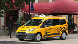 Next-Generation 2014 Ford Transit Connect Taxi