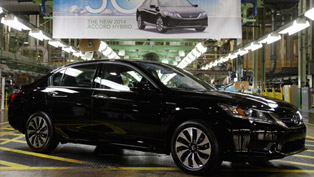 Production Start For 2014 Honda Accord Hybrid
