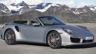 2014 Porsche 911 Turbo Cabriolet [video]