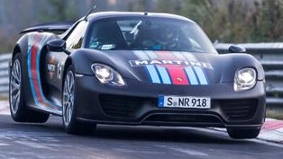 2013 Frankfurt International Motor Show: 2014 Porsche 918 Spyder