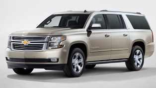 2015 Chevrolet Suburban and Tahoe