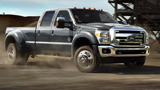 2015 Ford F-Series Super Duty V8 6.7 liter Power Stroke Turbodiesel