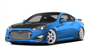 Hyundai And Bisimoto To Create 1000 HP SEMA Show Genesis Coupe