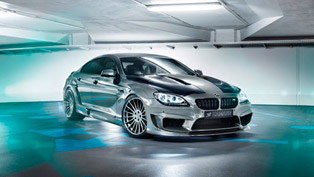 hamann transforms bmw m6 into mirror gc