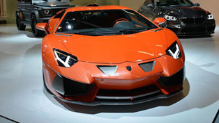 2013 Frankfurt International Motor Show: Hamann Nervudo based on Lamborghini Aventador
