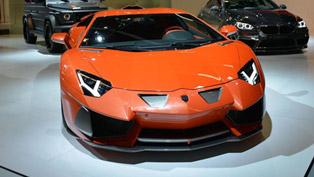 2013 Frankfurt International Motor Show: Hamann Nervudo based on Lamborghini Aventador