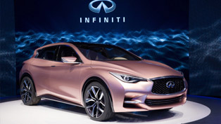Infiniti Q30 Concept Unveiled At The Frankfurt Motor Show