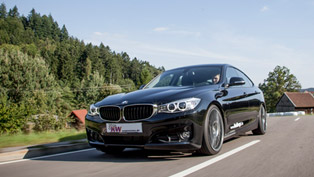 KW Automotive BMW 3-Series GT With Sportier Characteristics