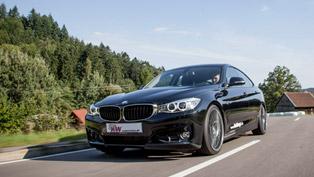 kw automotive bmw 3-series gt with sportier characteristics