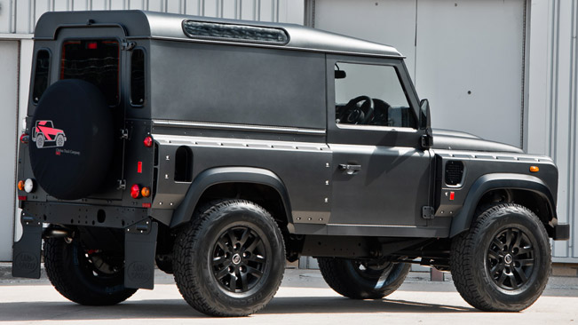Kahn Land Rover Defender Chelsea Wide Track Hard Top