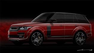 Kahn Teases Range Rover Vogue RS600