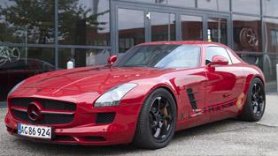 Kleemann Mercedes SLS AMG - Top Speed 356 km/h