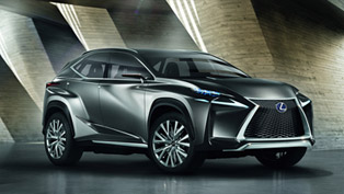World Premiere Of Lexus LF-NX Crossover Concept