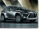 Frankfurt Motor Show: Lexus LF-NX Crossover Concept [VIDEO]